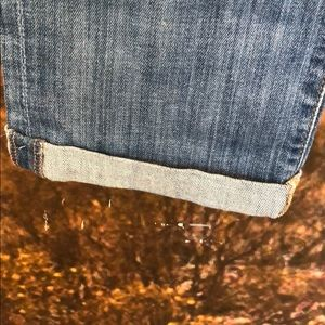 7 For All Mankind Jeans - 7 skinny crop and roll jeans